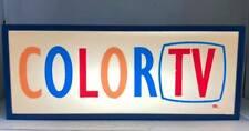 COLOR TV Light Box Marty Mummert