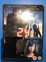 Kiefer Sutherland 24 Season 7 DVD Box Set Spy / Action Thriller Series