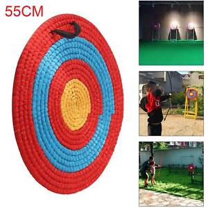 Outdoor Sports Archery Shooting Bow Straw Arrow Target Single Layer NEW UK