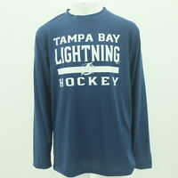 Tampa Bay Lightning NHL Youth Size official Athletic Long Sleeve Shirt New