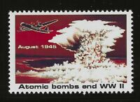 """ATOMIC BOMB ENDS WWII - 1995 U.S. POSTAGE """"STAMP"""" (TYPE 2) - MINT CONDITION"""