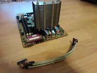 Shuttle FN85 V1.2 Mainboard AMD Athlon 3000+ 2GB RAM + Prozessorkühler