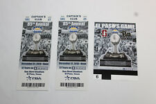 2018 SUN BOWL Pittsburgh - Stanford 2 TICKETS, 1 CREDENTIAL, 1 GUIDE
