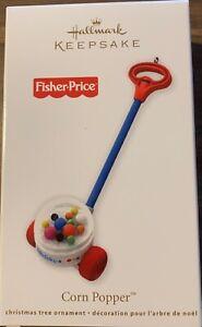Hallmark Keepsake 2012 Fisher Price Corn Popper Vacuum Ornament NIB