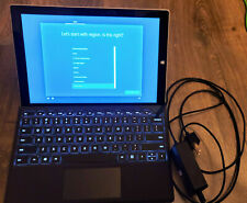 Microsoft Surface Pro 3 MQ2-00001 128GB, Wi-Fi, 4GB Tablet w/ Pro 4 Type Cover!