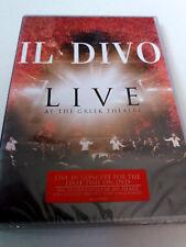 """IL DIVO """"LIVE AT THE GREEK THEATRE"""" DVD PRECINTADO SEALED"""
