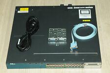 Cisco WS-C3560X-24P-S 24 Port GigE PoE+ Switch w/ 715WAC PSU 1YrWty TaxInv