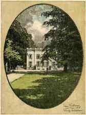 BRÜSSEL - TROIS FONTAINES  Luigi KASIMIR - 1915 - BRUXELLES OriginalLithographie