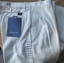 NWT Men's Dockers Classic Khaki Pleated Pants Tan 34x32