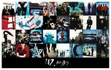 U2  **POSTER**  Achtung Baby PROMO AD Bono the Edge AMAZING IMAGES