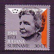 Suriname Michel numero 654 Fresco Posta