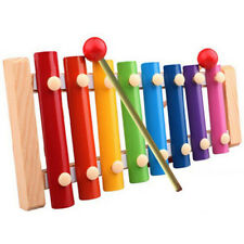 Baby Kid Musical Toys Piano Xylophone Wisdom Development Wooden Instrument Mi-0