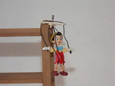 PINOCCHIO Marionette Character Figure Room Box People Toys Dollhouse Miniatures