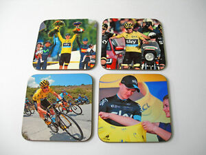 Chris Froome Tour de France 2015 Winner COASTER Set