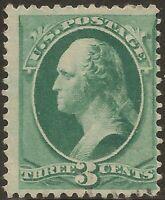 1882 SC #207 Unused HR OG F -      - CV $70.00 (42804)