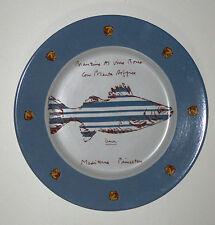 Michael Graves Large Plate Limited Edition Branzino 109/500 RARE Buon Ricordo