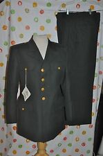 ARMY DRESS JACKET BLAZER MEN 40 S + 31 R  PANTS 2 PR  WOOL BLEND SUIT USA NWT