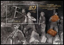 Stamp of  ESTONIA 2016 - Centenary of oil shale mining in Estonia / 633-15.06.16