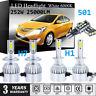6Pcs For Vauxhall Corsa D 2006-14 Side/Lo/Hi Beam 501 H7 H1 Headlight 12V Bulbs