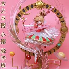 Card Captor Sakura Sakura Kinomoto Stars Bless 15th PVC Figure Model In Box 44cm