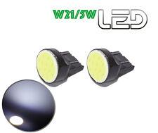 2 Ampoules LED COB T20 W21/5W Veilleuses position Jour diurne daylight
