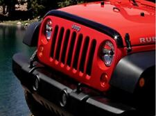 Genuine Jeep Accessories 82210277AB Tinted Front Air Deflector with Jeep Logo