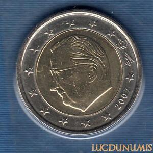 Belgique 2007 2 euro BU FDC provenant coffret BU 40000 exemplaires
