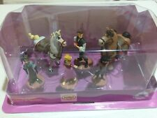 NEW Disney Store Rapunzel Tangled the series  Figurine Playset Cake Topper Set