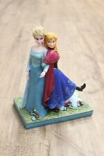 "Jim Shore, ""Sisters Forever"" Elsa and Anna Figurine"