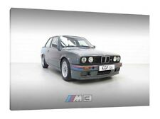 BMW M3 E30 - 30x20 Inch Canvas - Framed Picture Print Wall Art Poster