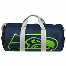 NFL SEATTLE SEAHAWKS VESSEL BARREL DUFFLE GYM BAG NEW 2017 STYLE TRAVEL LUGGAGE