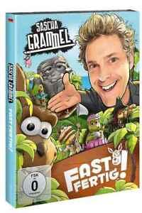 Sascha Grammel Fast Fertig! Doppel DVD OVP 2019 Deutsch Bonusmaterial NEU