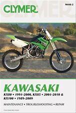 NEW CLYMER KAWASAKI KX80 KX85 KX100 SERVICE REPAIR MANUAL FREE SHIP