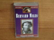 BERNARD MILES : Monologues And Poetry : HMV Cassette : TCHMV 4