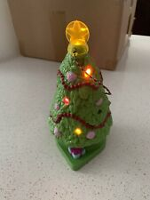 Light Up Christmas Tree Fisher Price Loving Family Doll Home for Holiday Present
