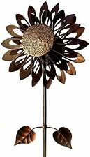 """Southern Patio Sunflower Wind Spinner - 73"""" Tall"""
