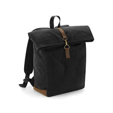 Quadra Heritage Waxed Canvas Backpack Bag