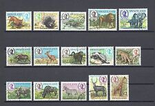 More details for swaziland 1969-75 sg 161/75 used cat £25
