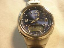 Men's Casio Waveceptor Illuminator World Time Alarm Watch 3747 WVA 106HA
