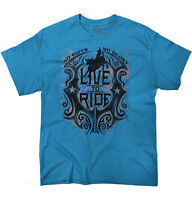 Live to Ride Rodeo USA Shirt   America Cowboy Western Country T Shirt
