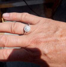 Womens Diamond Ring. Size 8