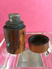 "Mid 19th Century Travelling Inkwell 1 7/8"" X 1 1/8"" H"