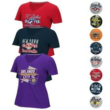 MLS Licensed Women's Team Graphic V-Neck T-Shirt Collection