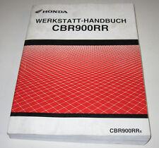 Werkstatthandbuch Honda CBR 900 RR Motor Batterie Bremse Zylinder Stand 11/2001