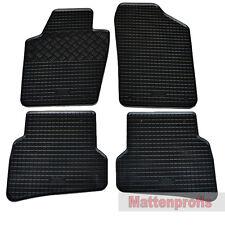 Gummimatten 4-teilig Gummifußmatten für VW Polo V 6R ab Bj.06/2009 bis 2017