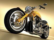 Customized chopper Hot bike Wall Print POSTER FR