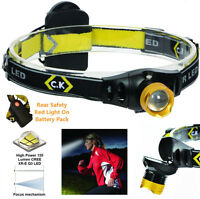 CK T9610 LED HEAD TORCH - 120 LUMENS - 3 MODES - CAMPING, CYCLISTS, RUNNERS