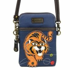 CHALA Tiger Cell Phone Crossbody Purse Tiger, Big Cat Lovers Shoulder Bag