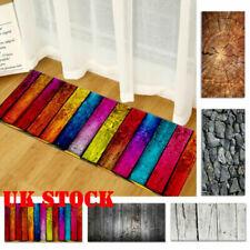 UK Non-Slip Kitchen Floor Mat Washable Rug Large Door Hallway Runner Carpet Soft