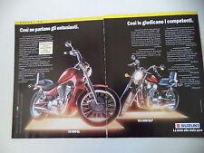 advertising Pubblicità 1992 MOTO SUZUKI VS 800 GL INTRUDER/VS 1400 GLP